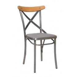 Метален трапезен стол Antique/M