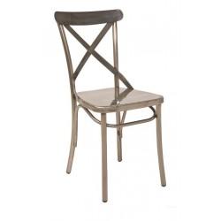 Метален трапезен стол Christofer