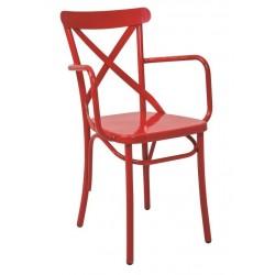 Метален трапезен стол Jazzy