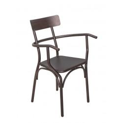 Метален трапезен стол Andres