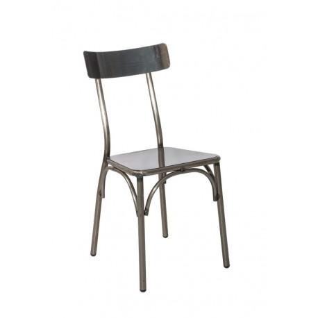 Метален трапезен стол Lester