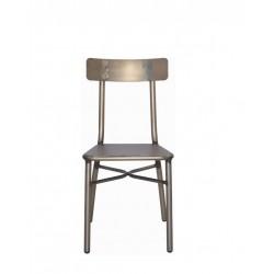 Метален трапезен стол Ridly