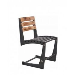 Метален трапезен стол Lion