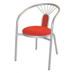 Метален трапезен стол Verona