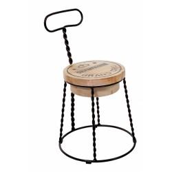 Метален трапезен стол Benedikt