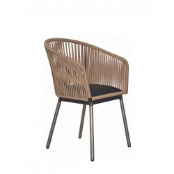 Метален трапезен стол Roho