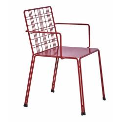 Метален трапезен стол Astro