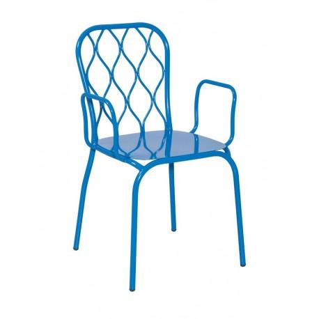 Метален трапезен стол Relin 2