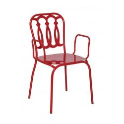 Метален трапезен стол Talia 2-3