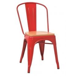 Метален трапезен стол Dalas W