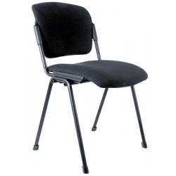 Посетителски стол Zeal Black