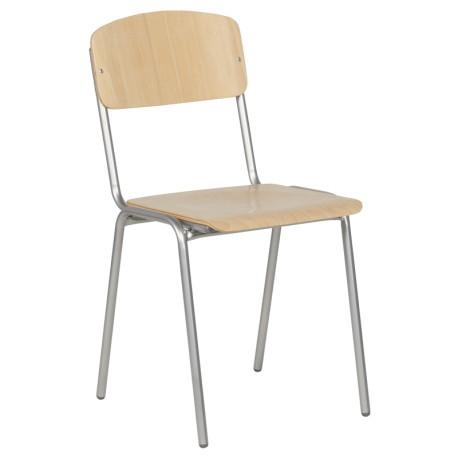 Дървен стол Task