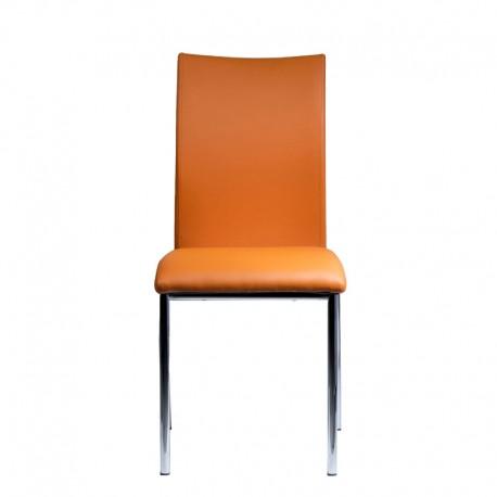 Трапезен стол DC-1390 - оранжев