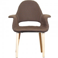 Трапезен стол PP-632 А - кафяв