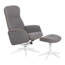 Кресло с табуретка UNA