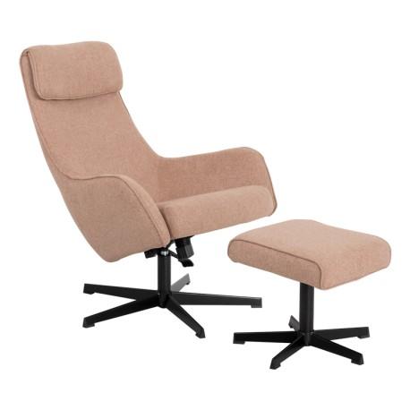 Кресло с табуретка ERICA