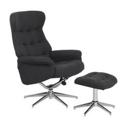 Кресло с табуретка DAVINA дамаска
