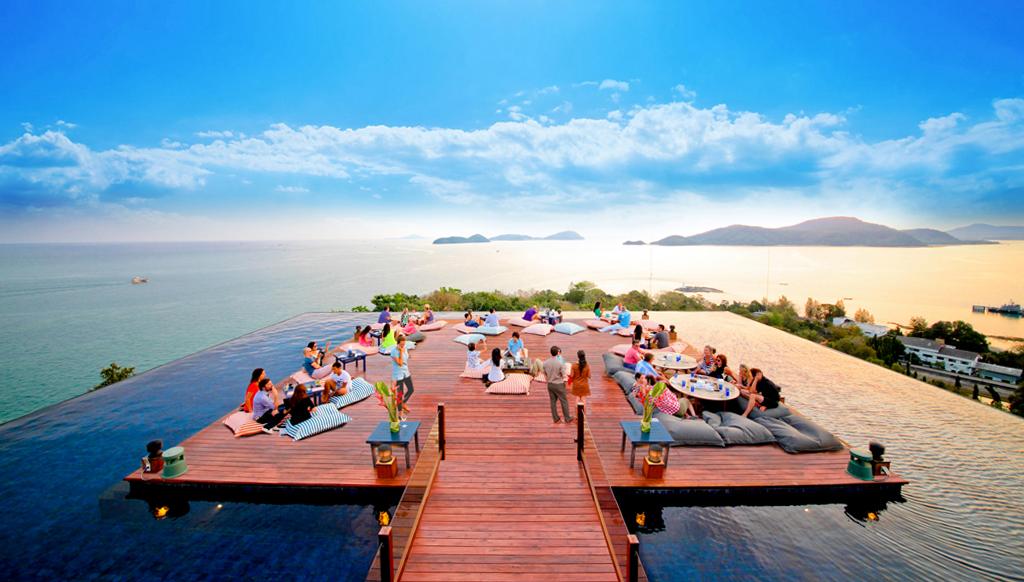 Плажен бар в Тайланд