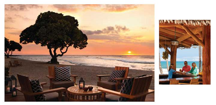 плажен бар в Хавай
