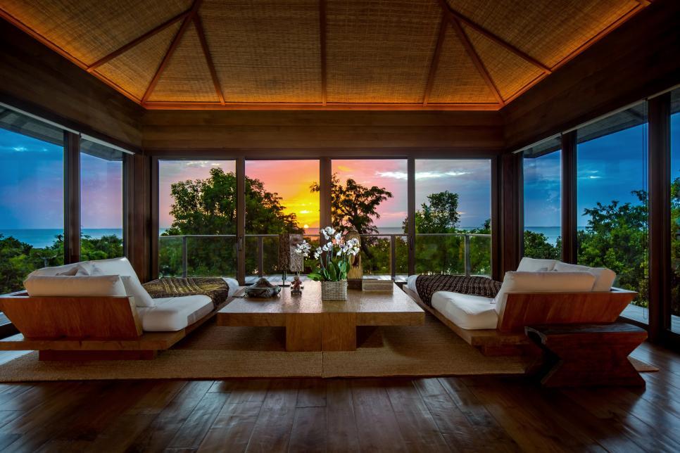 Къщата на дизайнерката Дона Кара