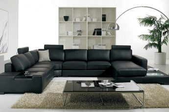 Modern-Living-Room-With-Black-Furniture