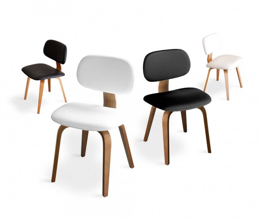 Дървен трапезен стол