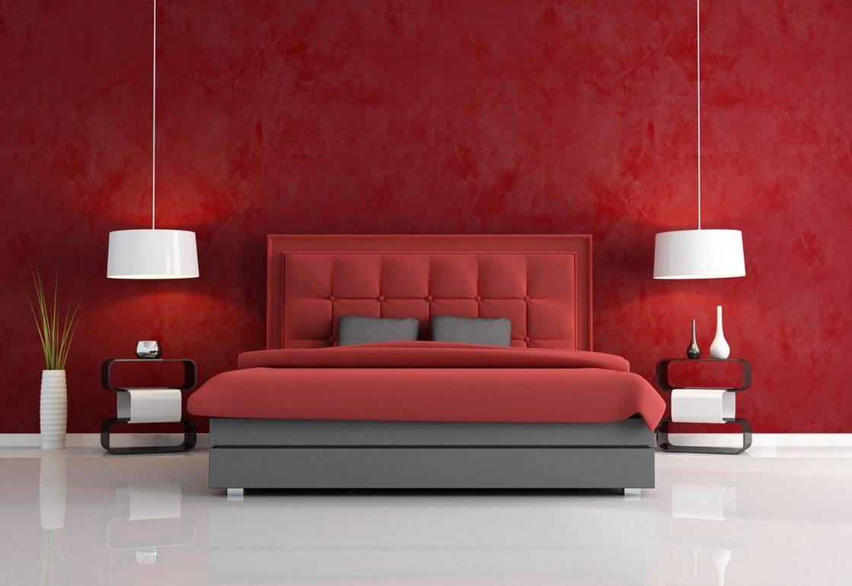 червена спалня