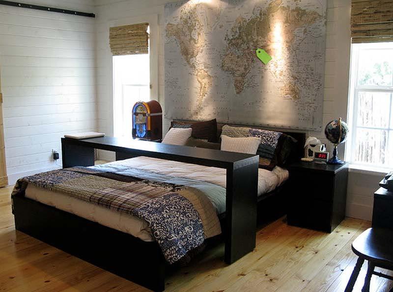 легло с вграден бар