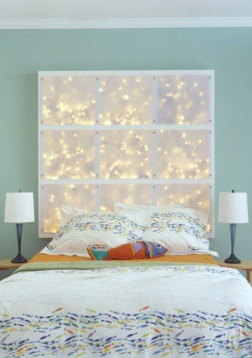 Легло с инсталирана LED инсталация