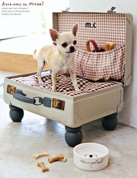 куфар за легло на куче