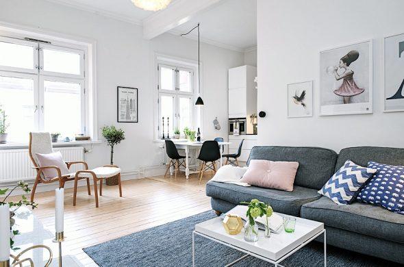 дом в скандинавски стил
