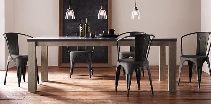 столове от метал