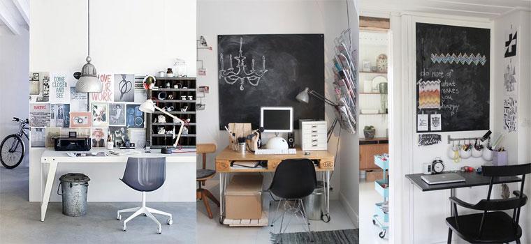 офис пространства в скандинавски стил
