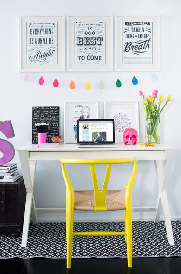 цветно офис пространство