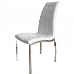 Трапезен стол DC-1316 - бял