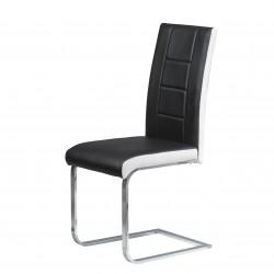 Трапезен стол H-371 - черен