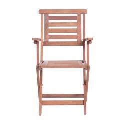 Сгъваем дървен градински стол NILS