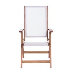 Сгъваем дървен градински стол SVEN