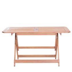 Сгъваема дървена градинска маса MARIT